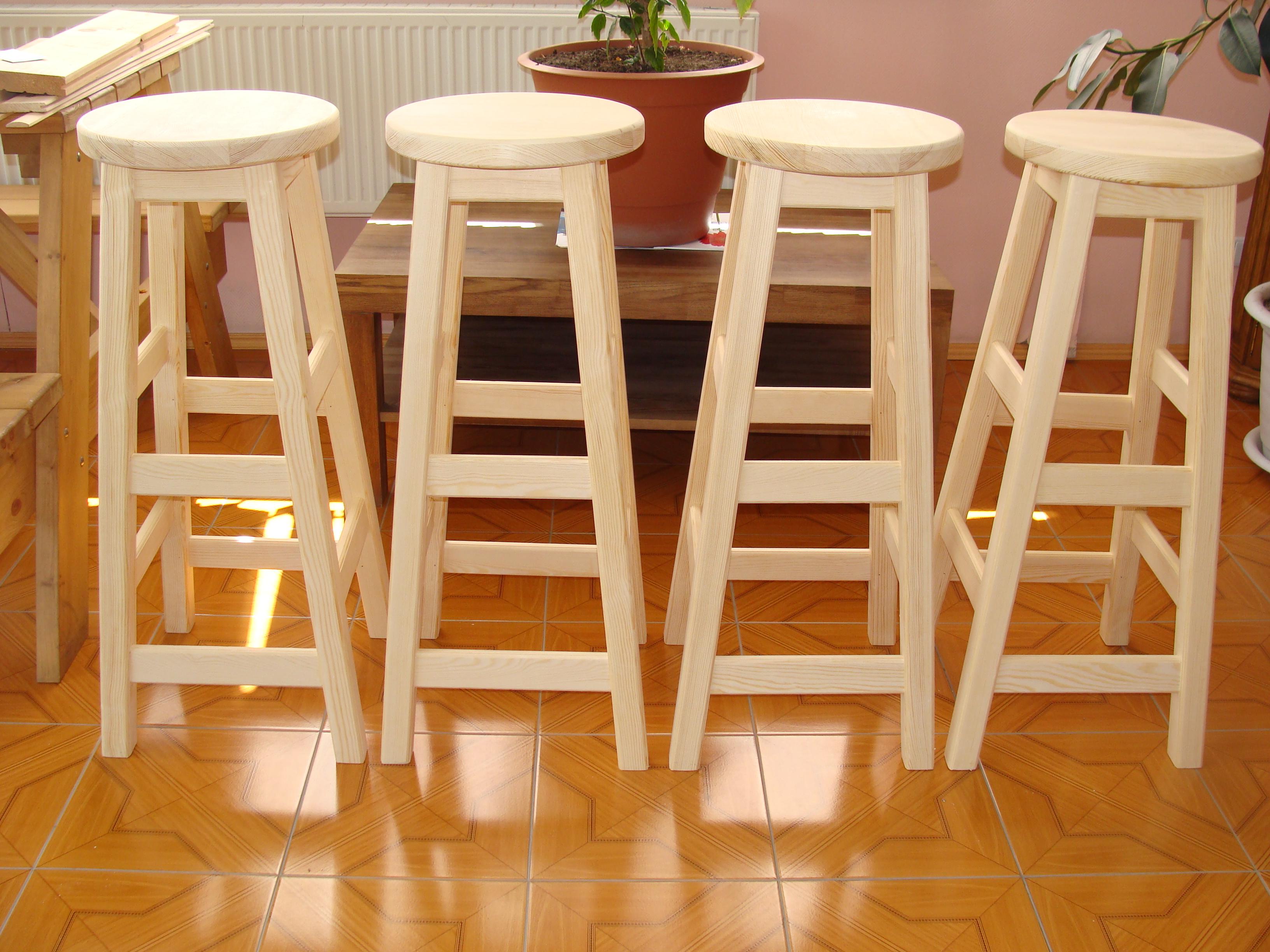 Как сделать стулья барные