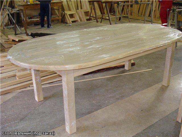 Как сделать круглый кухонный стол из дерева 20